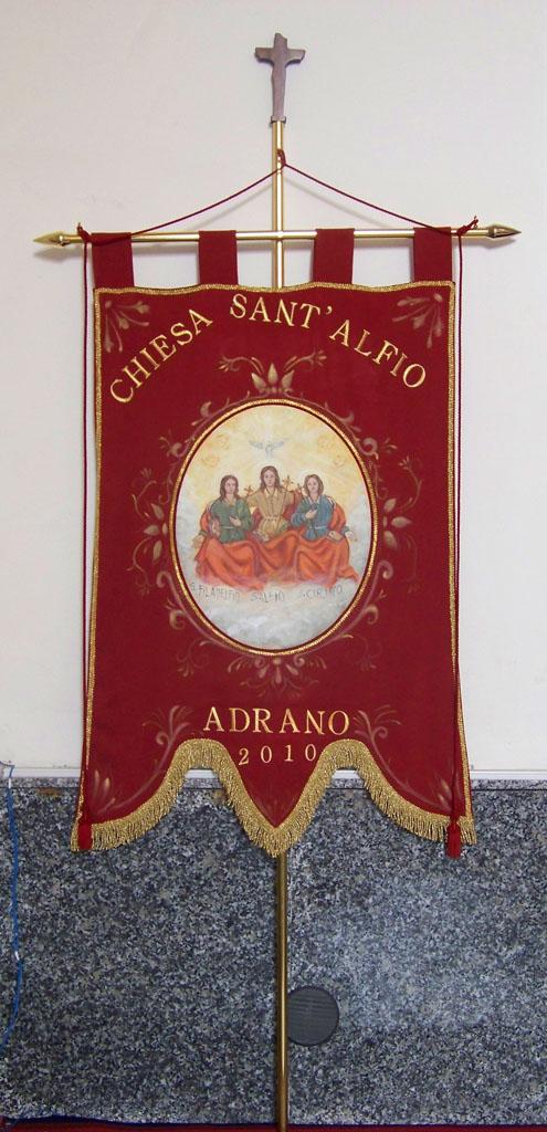 Stendardo Chiesa Sant'Alfio Adrano