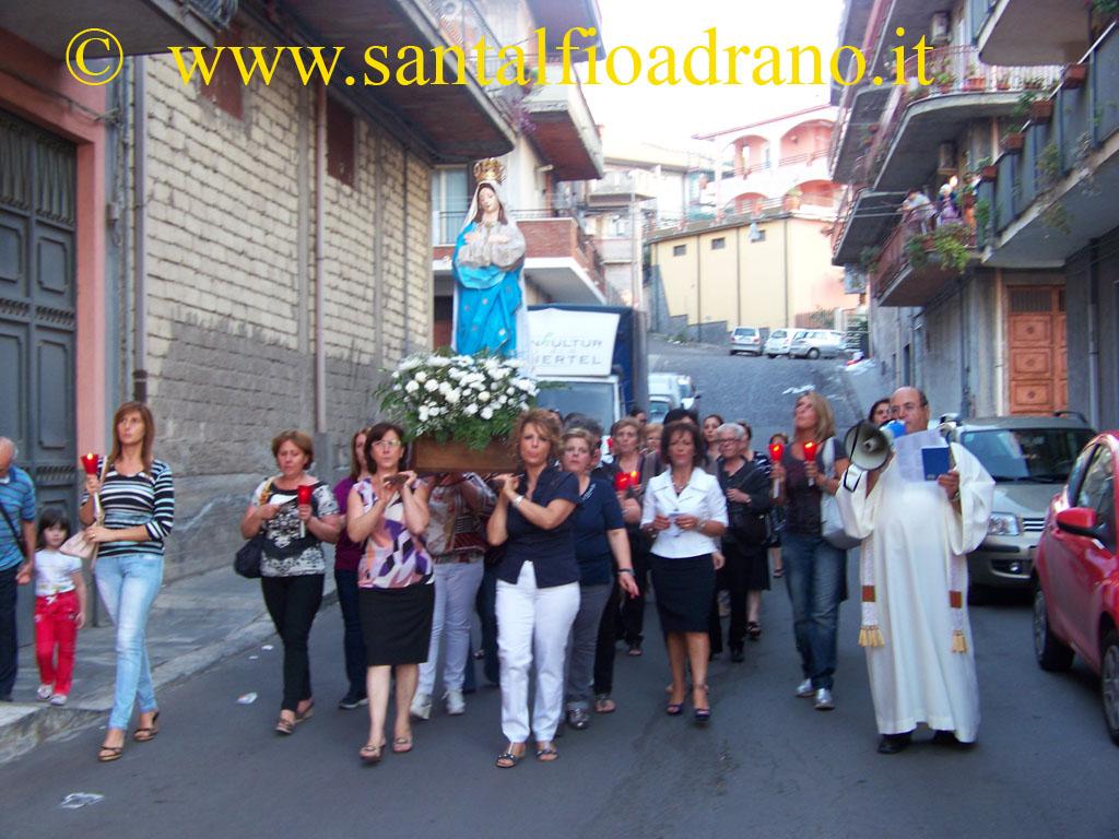 Sant'Alfio Adrano Madonna de La Salette