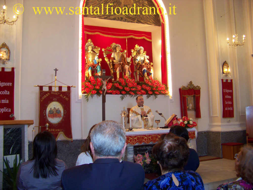 Sant'Alfio Adrano Triduo
