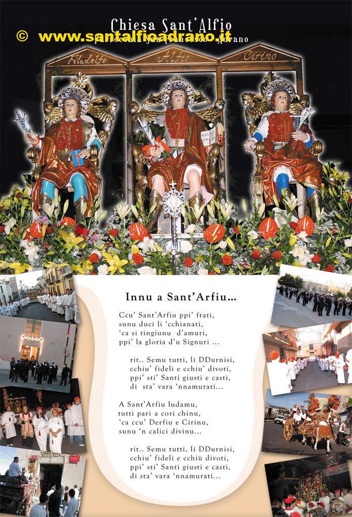 Sant'Alfio Adrano Calendario 2006