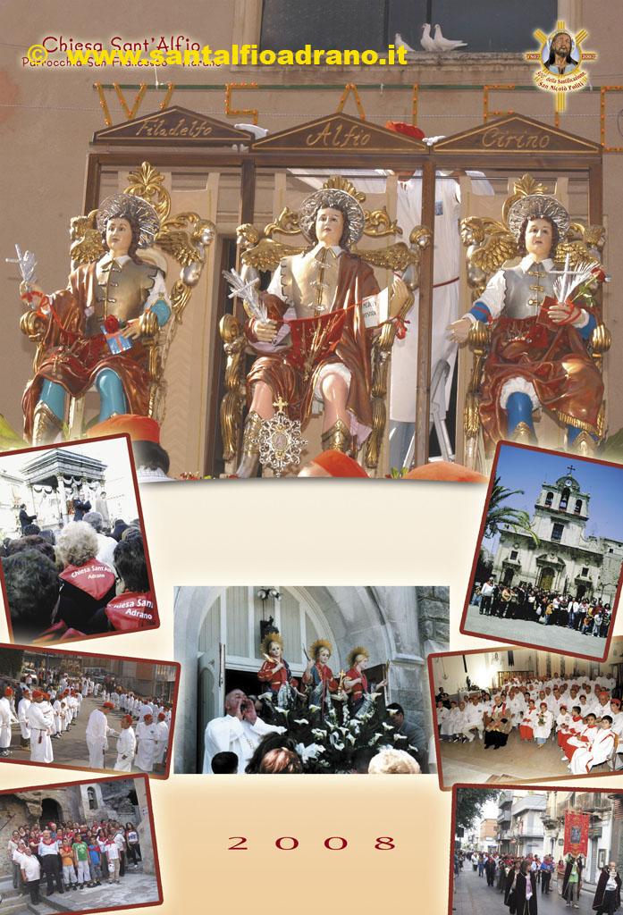 Sant'Alfio Adrano Calendario 2008