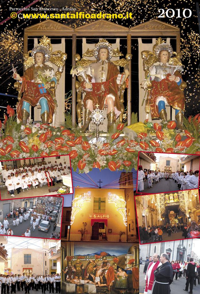 Sant'Alfio Adrano Calendario 2010