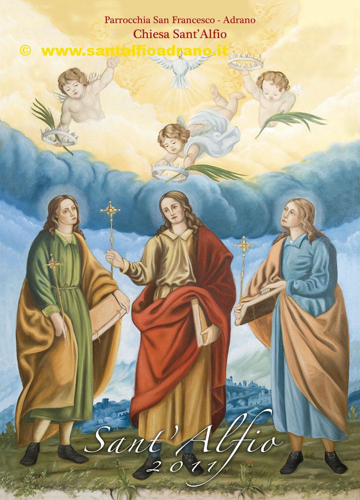 Sant'Alfio Adrano Calendario 2011